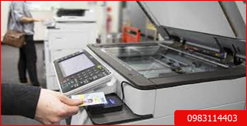 Thuê máy photocopy nhiều tính năng hiện đại