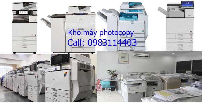 Cho thuê máy photocopy tại Bình Dương giá cạnh tranh máy mới 98 %