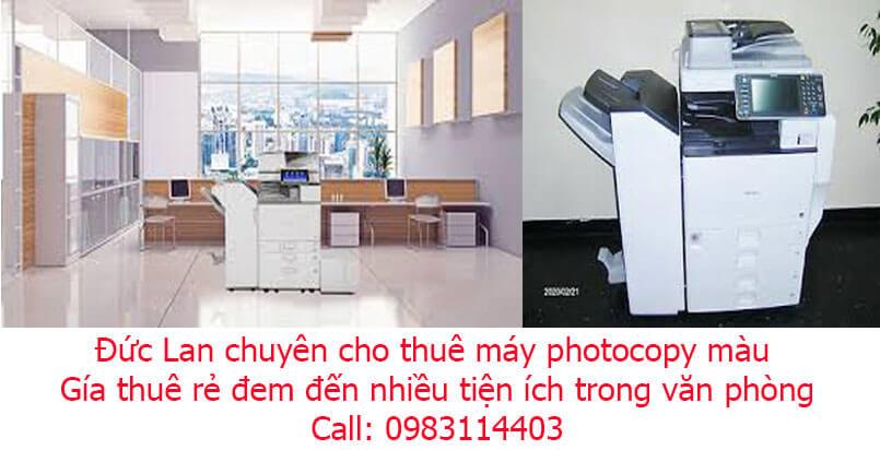 Thuê máy photocopy tại Biên Hòa Đồng Nai giá rẻ nhất thị trường