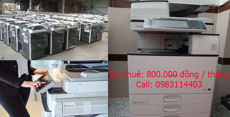 Thuê máy photocopy tại quận Thủ Đức giá rẻ nhất TP.HCM