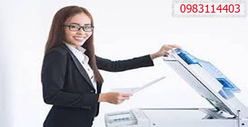 Thuê máy photocopy giá 800.000 đồng / tháng không phí đặt cọc
