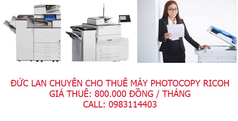 Thuê máy photocopy giá 800.000 đồng tại Linh Dương
