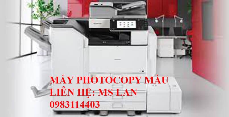Photocopy Linh Dương chuyên cho thuê máy photocopy màu tại Bình Dương