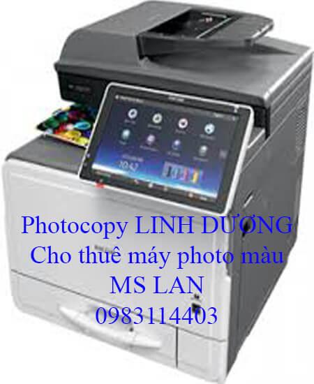 Photocopy Linh Dương cho thuê máy photocopy màu giá rẻ tại TP.HCM