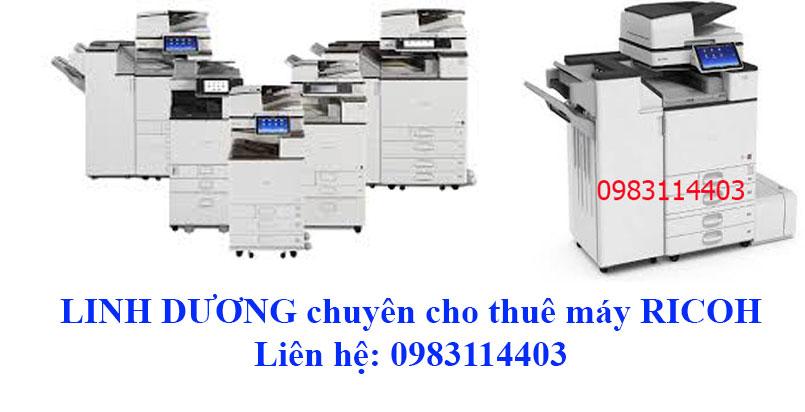 Photocopy Linh Dương chuyên cho thuê máy photocopy RICOH