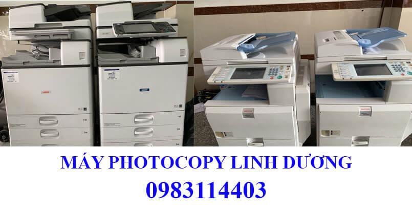 Máy photocopy được tuyển chọn kỹ lưỡng, vệ sinh thay thế vật tư khi giao máy cho khách