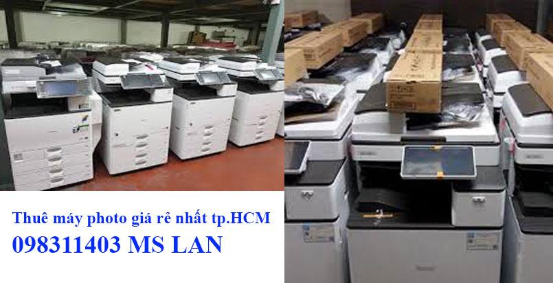 Thuê máy photocopy tại huyện Cần Giờ