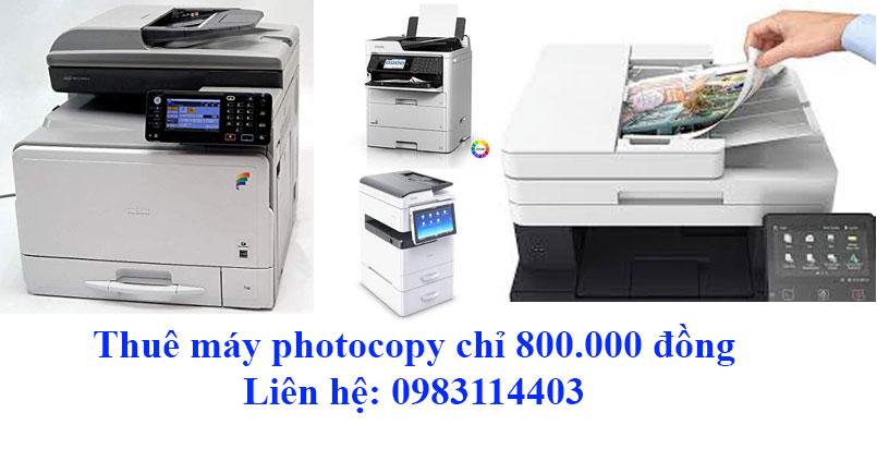 Thuê máy photocopy giá rẻ nhất tp.HCM