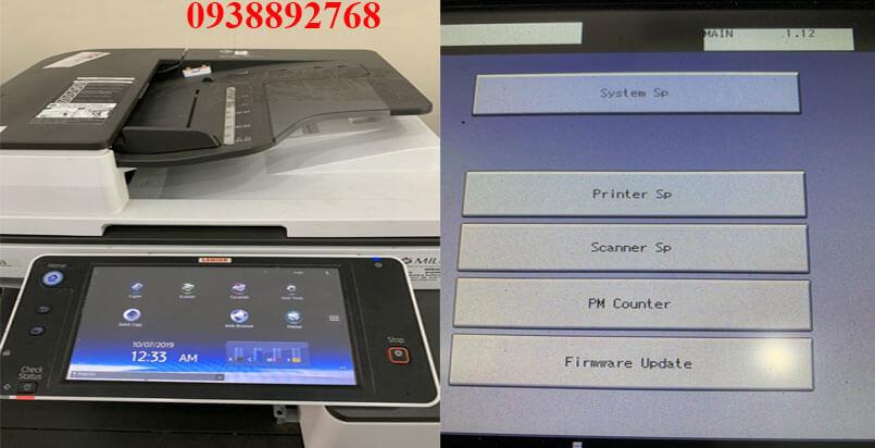 Hướng dẫn sủa máy photocopy Ricoh mp