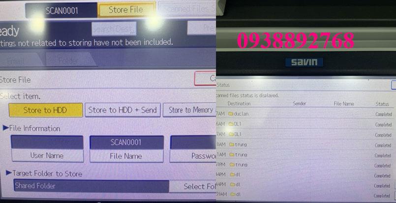 Hướng dẫn cài scan to folder trên máy photocopy RICOH chi tiết nhất, mà ai cũng có thể làm