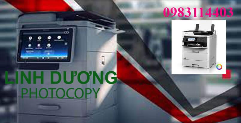 Photocopy Linh Dương chuyên cho thuê máy photo đời mới nhất tại Bến Lức, Tân An - Long An
