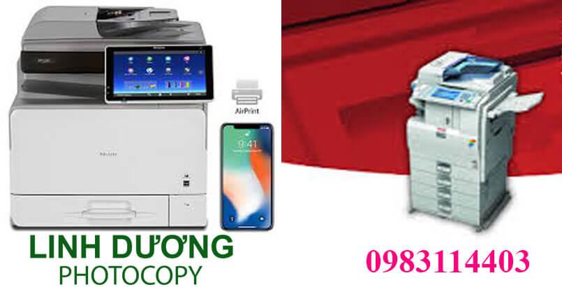 Thuê máy photocopy tại Linh Dương không cần đặt cọc, thủ tục đơn giản