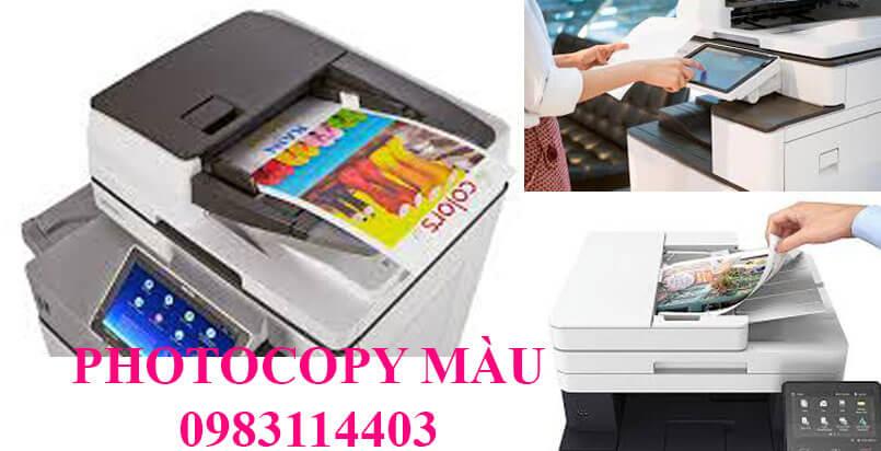 Photocopy Linh Dương chuyên cho thuê máy photo màu tại TP. THUẬN AN BÌNH DƯƠNG