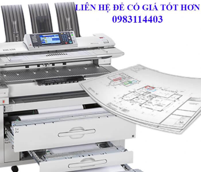Mua máy photocopy khổ lớn A0 ở đâu dịch vụ tốt nhất?