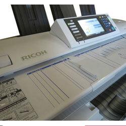 Bán máy photocopy RICOH A0 MP W5100 giá rẻ