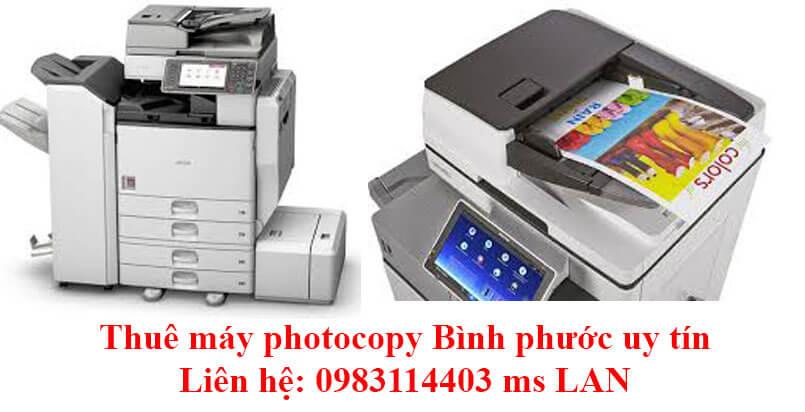 Thuê máy photocopy tại Bình Phước uy tín, nhiều gói thuê dễ dàng lựa chọn