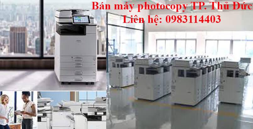 Bán máy photocopy TP.Thủ Đức nhiều tính năng, đời mới