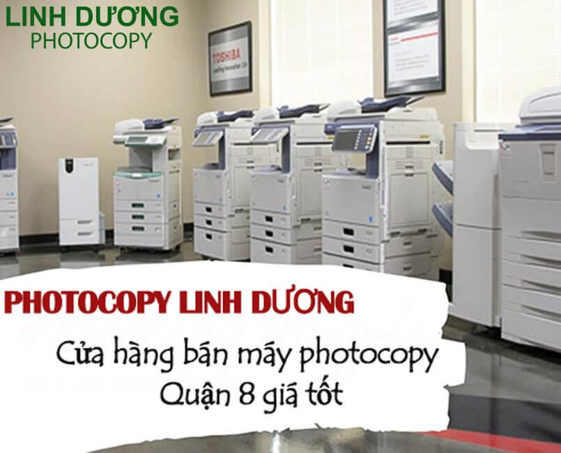 Bán máy photocopy quận 8 bảo hành 4 năm