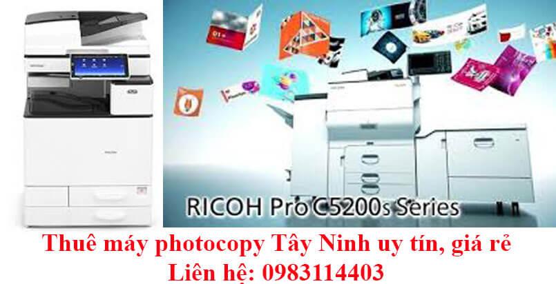 Thuê máy photocopy Tây Ninh tiết kiệm chi phí