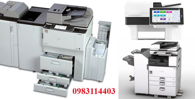 Thuê máy photocopy tỉnh Tiền Giang giá tốt nhất