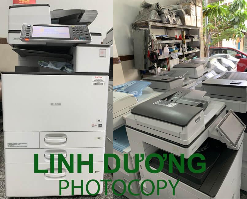 Bán máy photocopy huyện Bình Chánh nhập khẩu