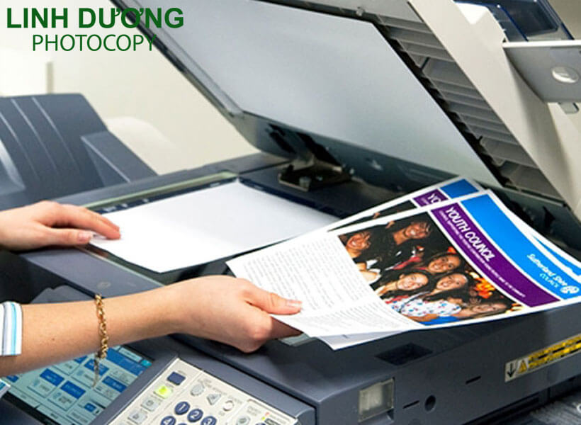 Bán máy photocopy quận 4 miễn phí vận chuyển