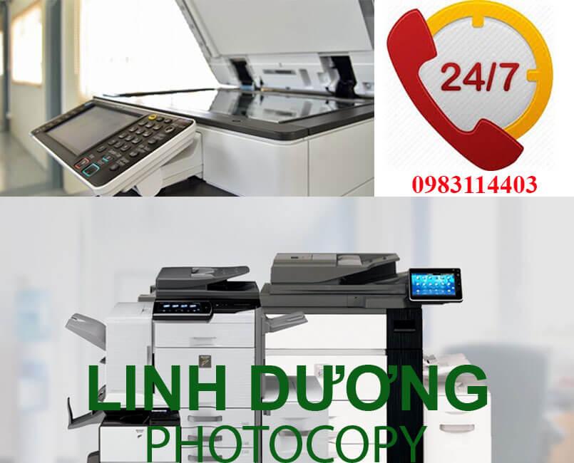 Dịch vụ sửa máy photocopy tại TPHCM uy tín