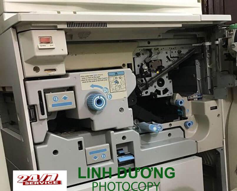 Sửa máy photocopy quận 6 có bảo hành