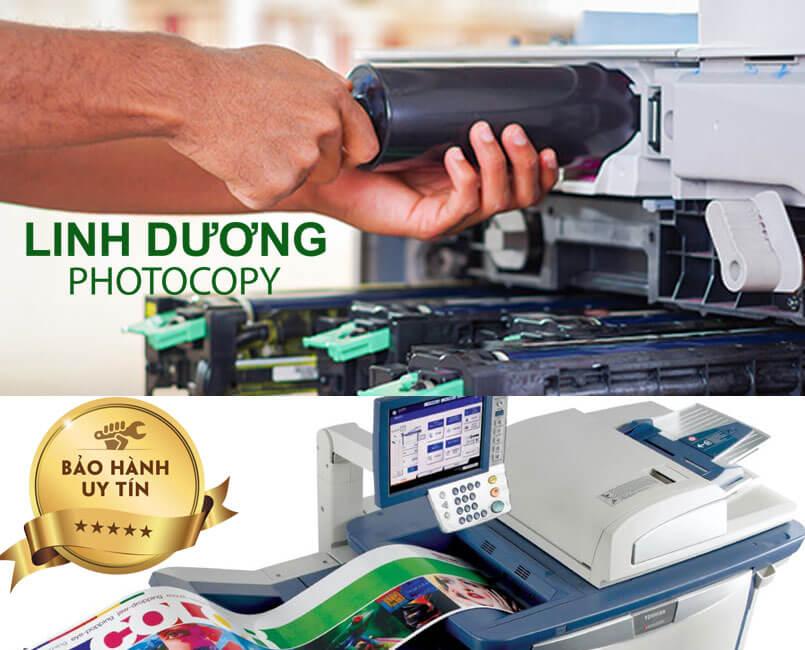 Sửa máy photocopy ở đâu tại TPHCM uy tín