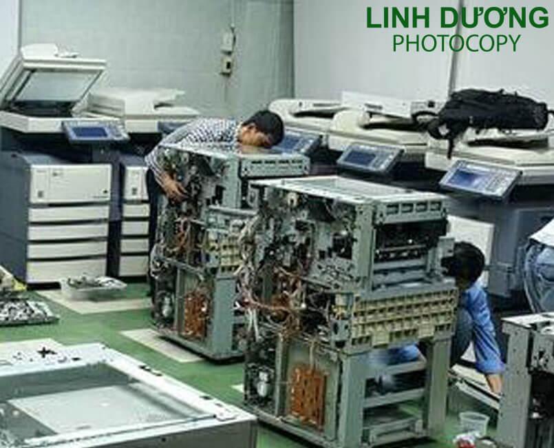 Sửa máy photocopy quận 11 có bảo hành