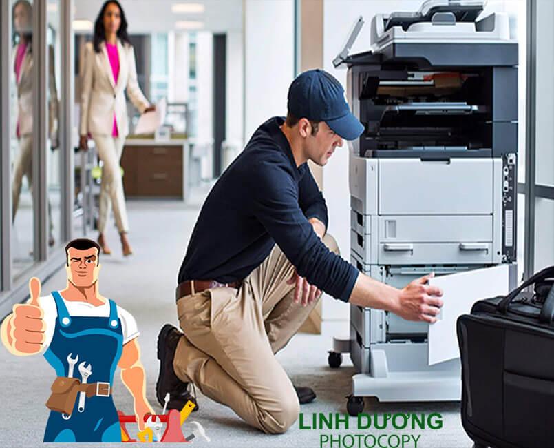 Dịch vụ sửa chữa máy photocopy quận Bình Thạnh uy tín