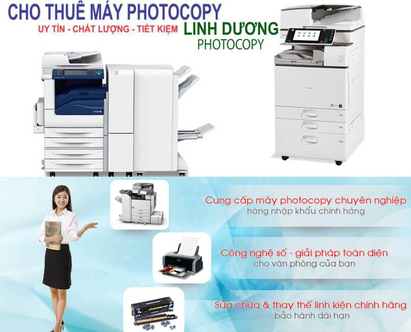 Gía thuê máy photocopy rẻ tiết kiệm chi phí