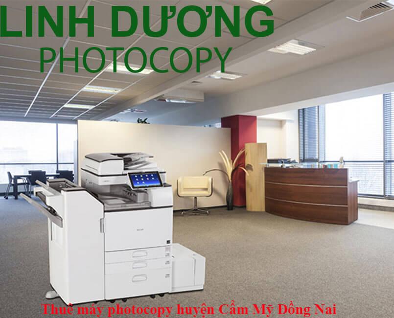 Dịch vụ cho thuê máy photocopy huyện Cẩm Mỹ
