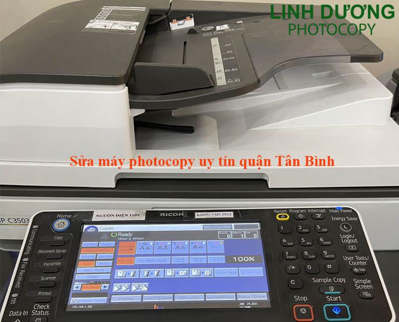 Sửa máy photocopy tại quận Tân Bình nhanh hiệu quả và uy tín