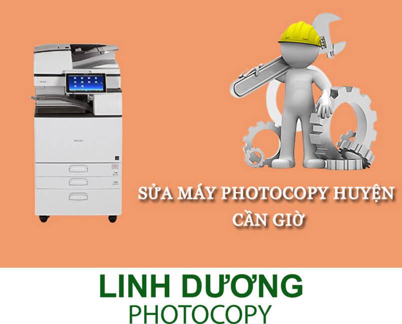 Đia điểm sửa máy photocopy huyện CẦN GIỜ uy tín nhất