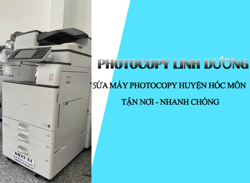 Sửa máy photocopy huyện Hóc Môn nhanh chóng tiện lợi