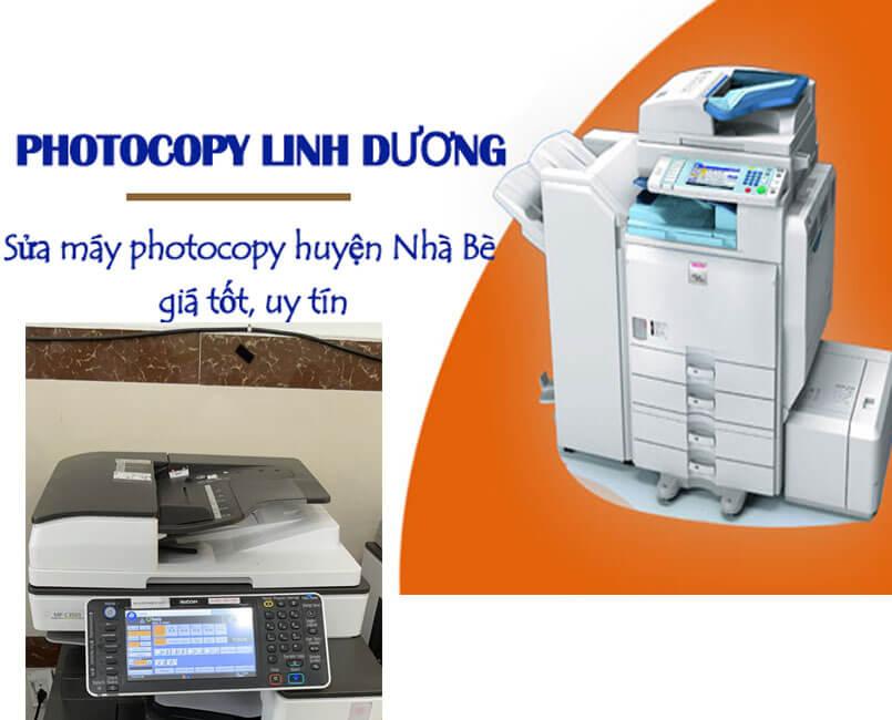 Sửa máy photocopy tại huyện Nhà Bè có bảo hành