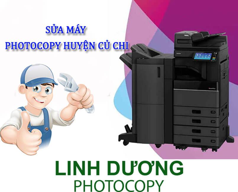 Máy photocopy đang bị hư tại huyện Củ Chi liên hệ ngay với dịch vụ sửa máy photocopy Linh Dương