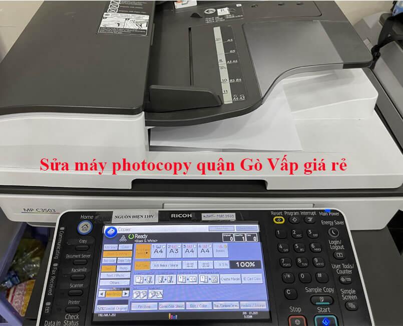 Sửa máy photocopy quận Gò Vấp nhanh chóng và tiện lợi